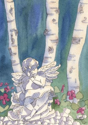 Garden Angel by Kendra Smith