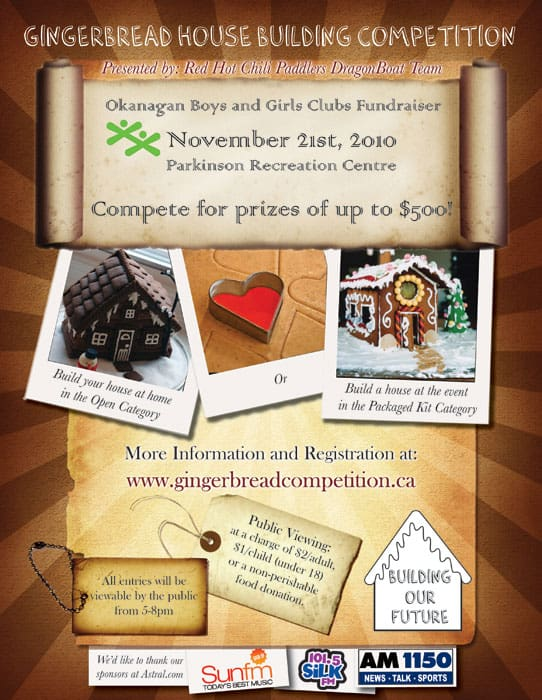Gingerbread House Building Competition