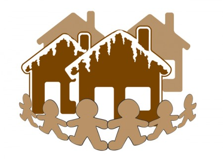 Gingerbread House Event logo