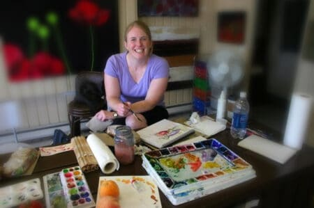 Kendra Watercolour Artist and Instructor